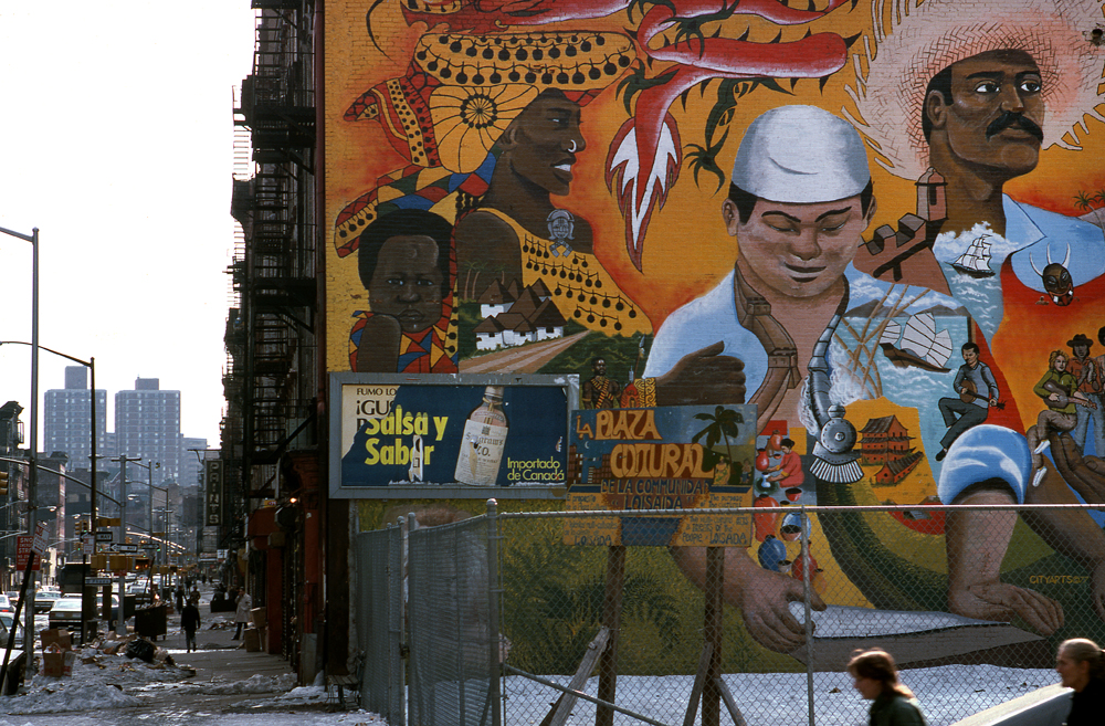 LOISAIDA COMMUNITY, LOWER EAST SIDE Manhattan. NY 1978