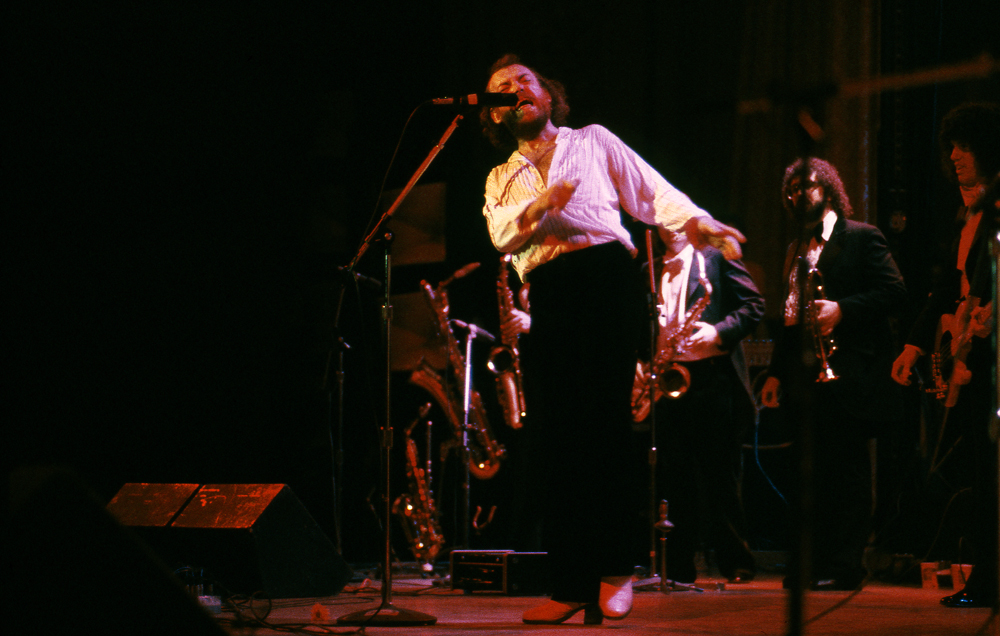 JOE COCKER AT CARNEGIE HALL Manhattan. NY 1978