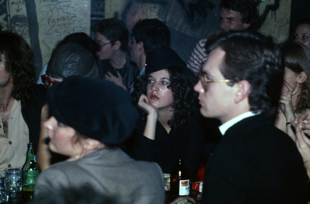 At CBGB - Manhattan. NY 1978