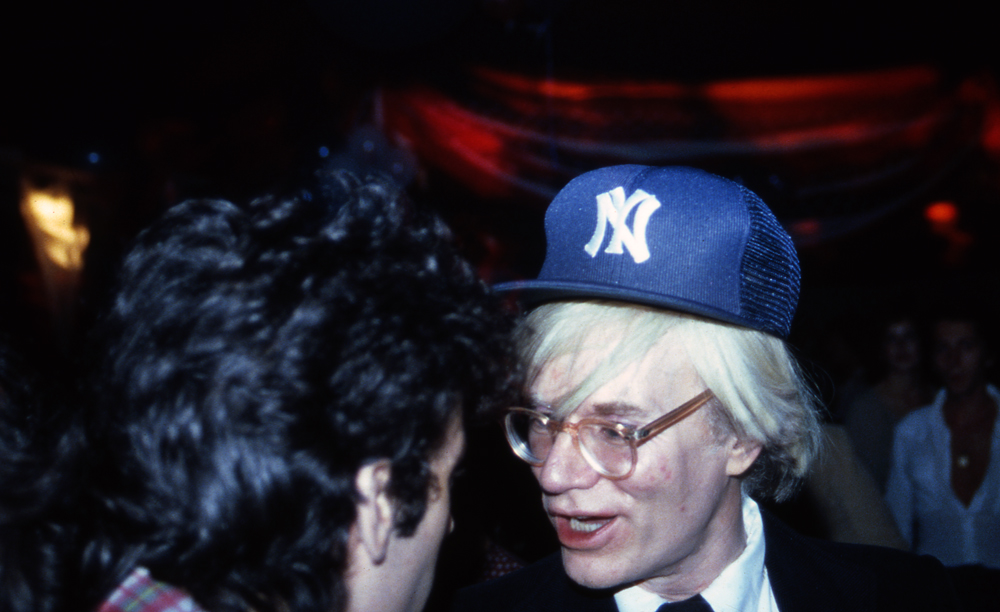 Andy Warhol at Studio 54 - NYC 1978