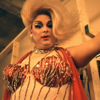 Backstage With Divine in The Neon Woman – New York 1978