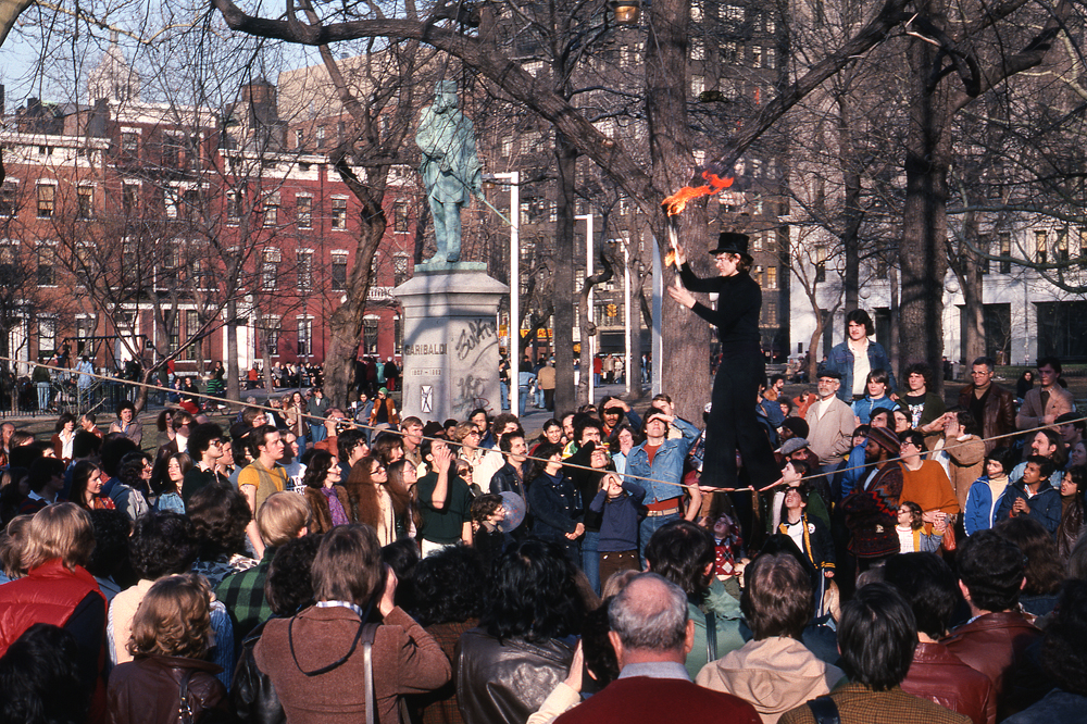Washington Square Park. Manhattan. NY 1978