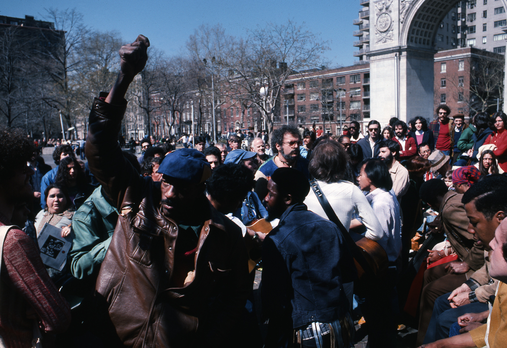 Washington Square Park. Manhattan. NY 1977