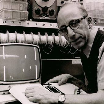 "The Very First Video Game Console, the ""Brown Box,"" Invented by Ralph Baer in 1966"