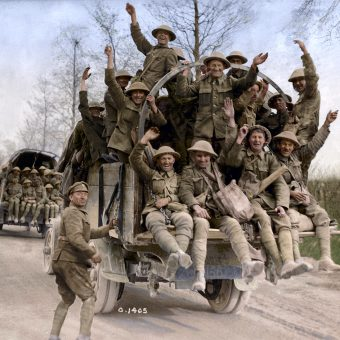 World War 1 In Color: Canada's War