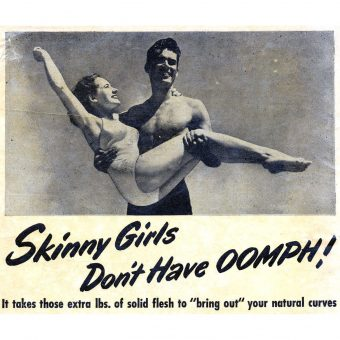 """Don't Let Them Call You Skinny!"" – Vintage Weight Gain Advertising for Women"