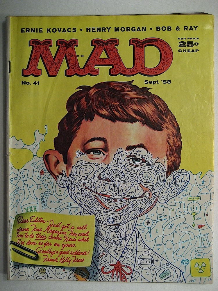 Mad MAgazine numbers color by numbers