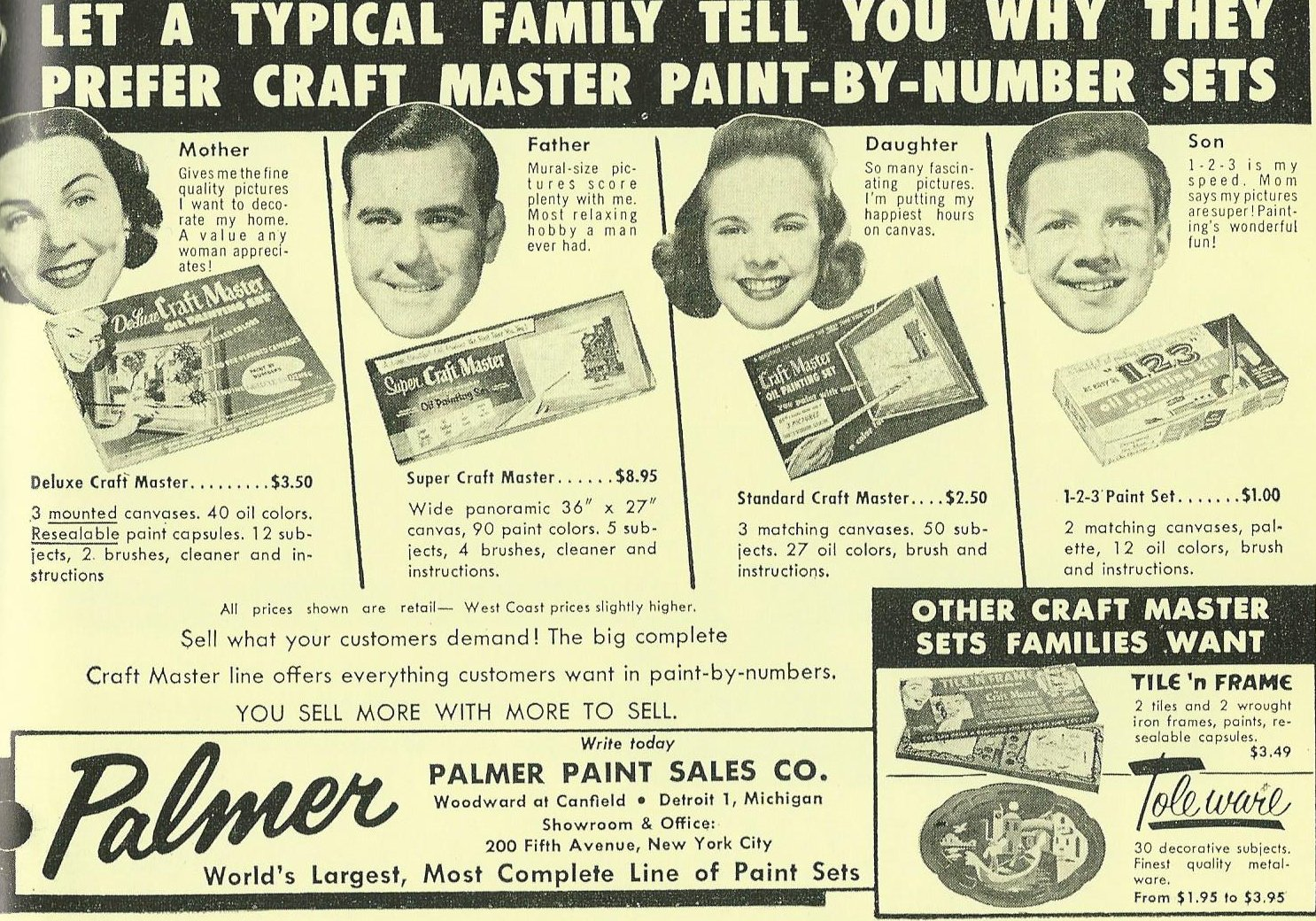paint by numbers advert