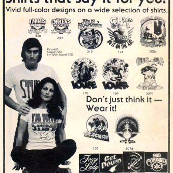 """""""Nuke the Whales"""" and 20 More Tacky and Tasteless T-Shirts from the 1970s"""