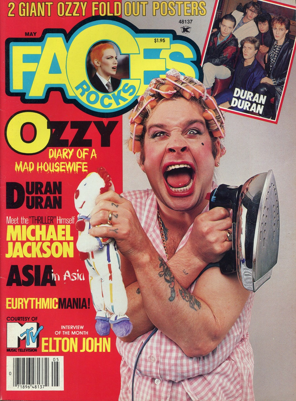 Faces magazine - 1984
