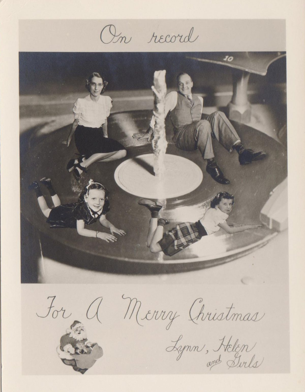 453426d345 Christmas cards vintage snapshots
