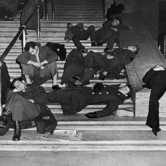 New Year's Day in New York City – Sleeping Off The Booze (1938 – 1952)