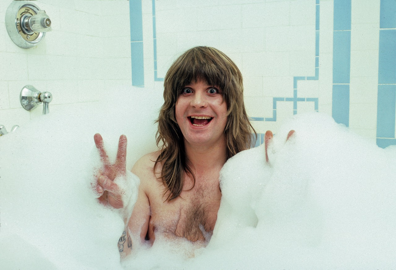 Ozzy Osbourne at The Plaza Hotel in NYC - 1981