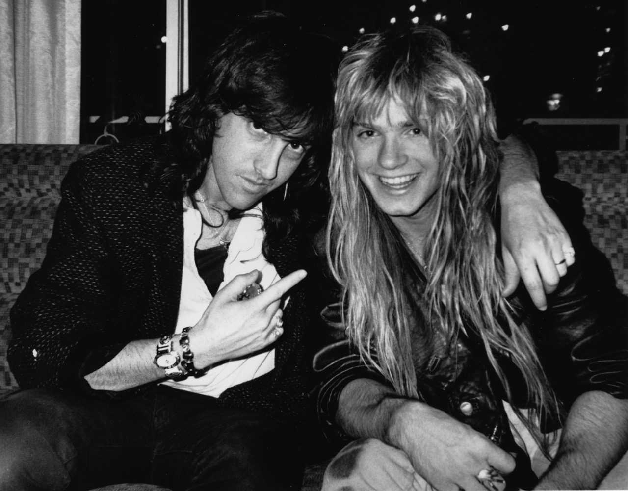 Mark and Zakk after auditioning for Ozzy in California