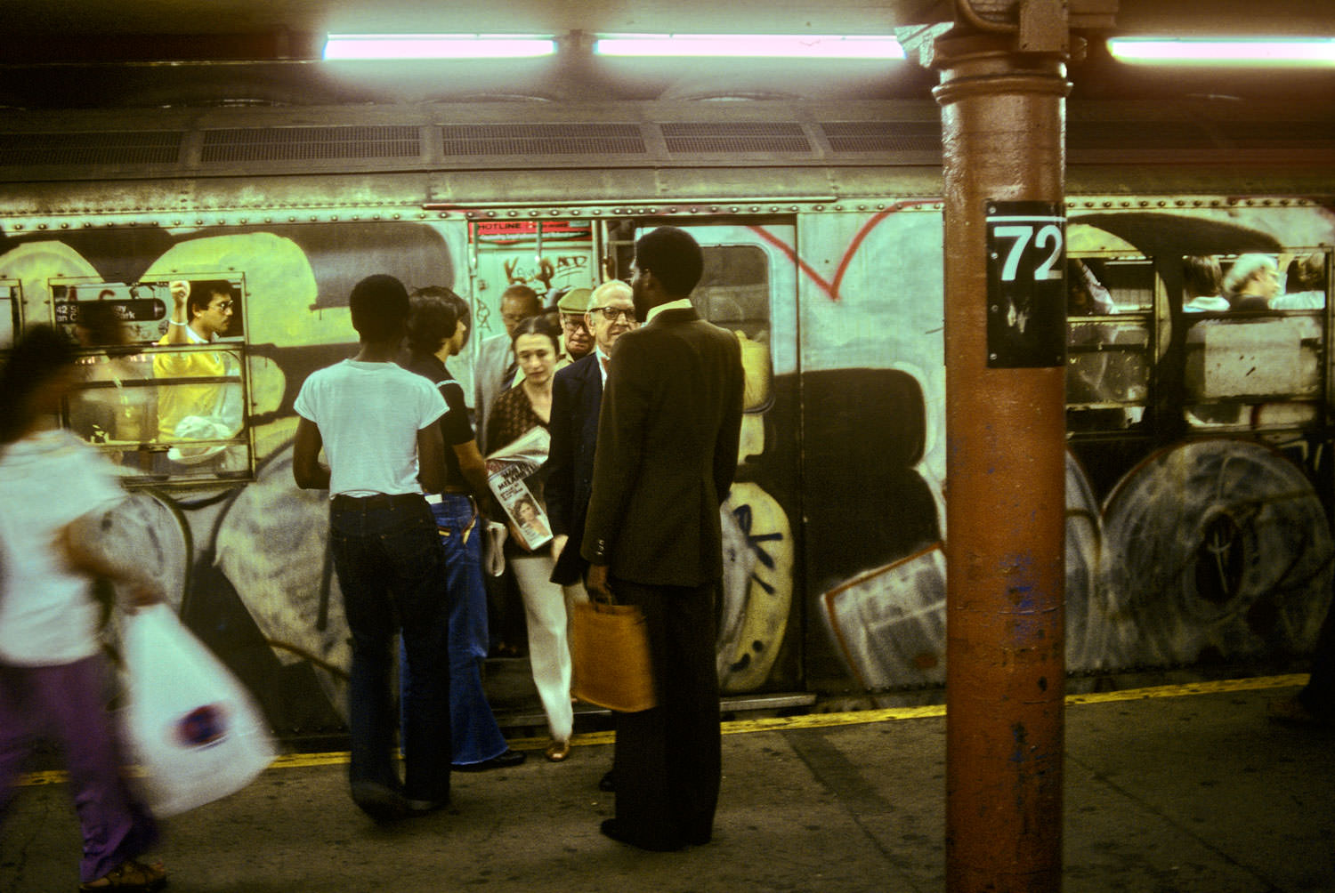 New York City Subway 1970s 1980s