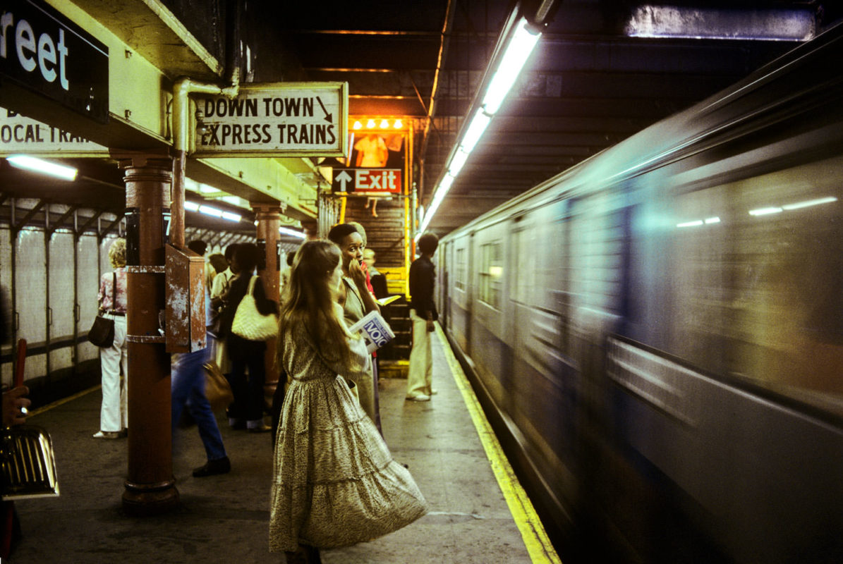 SUBWAY NEW YORK, 1977-1984.