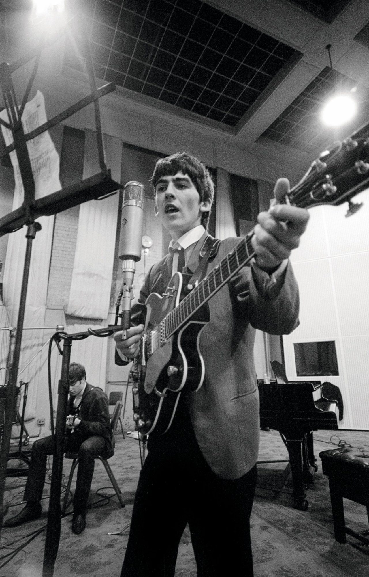 The Beatles At Abbey Road On September 12 1963 Norman