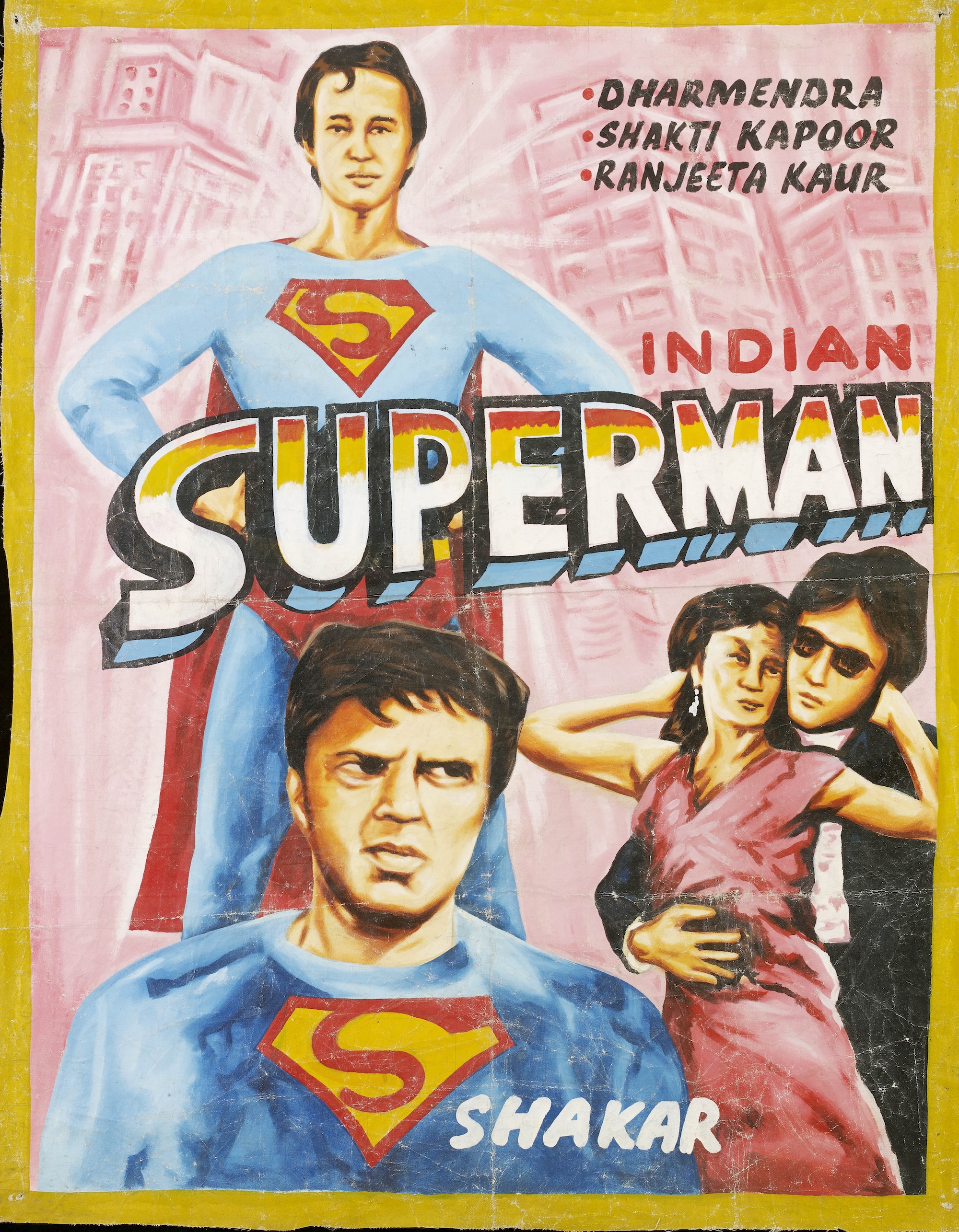 Hollywood, Bollywood and Nollywood Movie Posters from Ghana