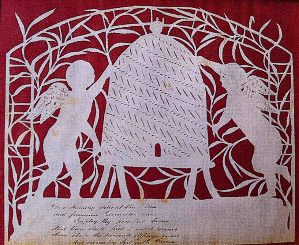 Elizabeth Cobbold's Papercut Invitations to her Annual St. Valentine's Day Ball