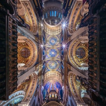 Panoramic Photographs by Peter Li Celebrate the Symmetry of Churches