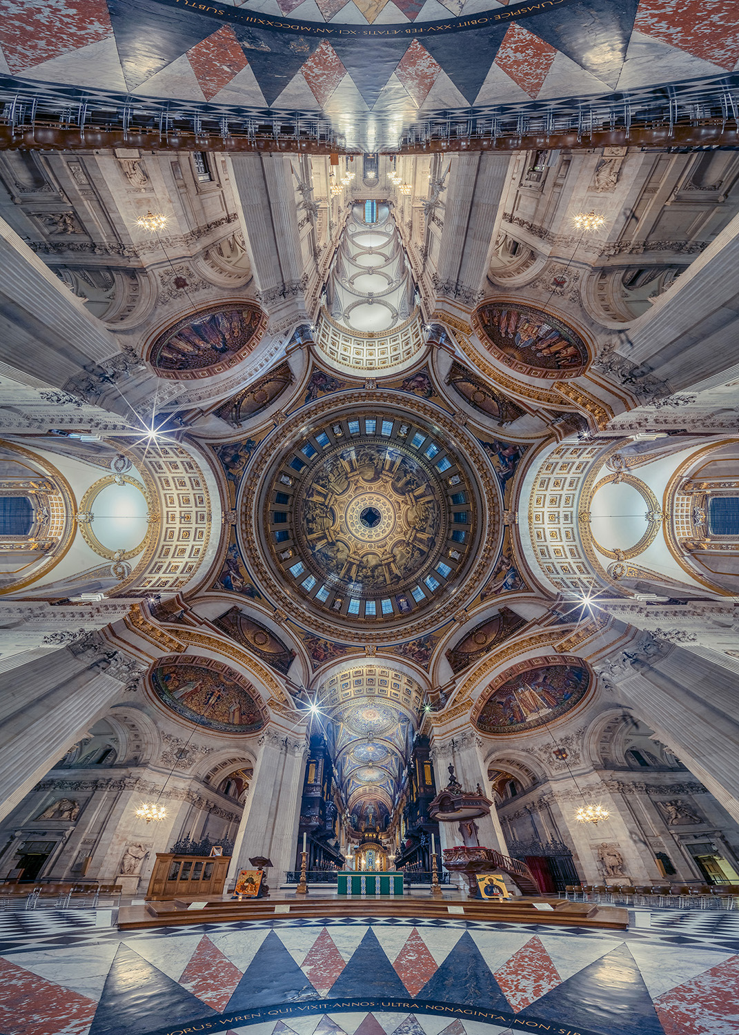 St Pauls Cathedral Dome, London