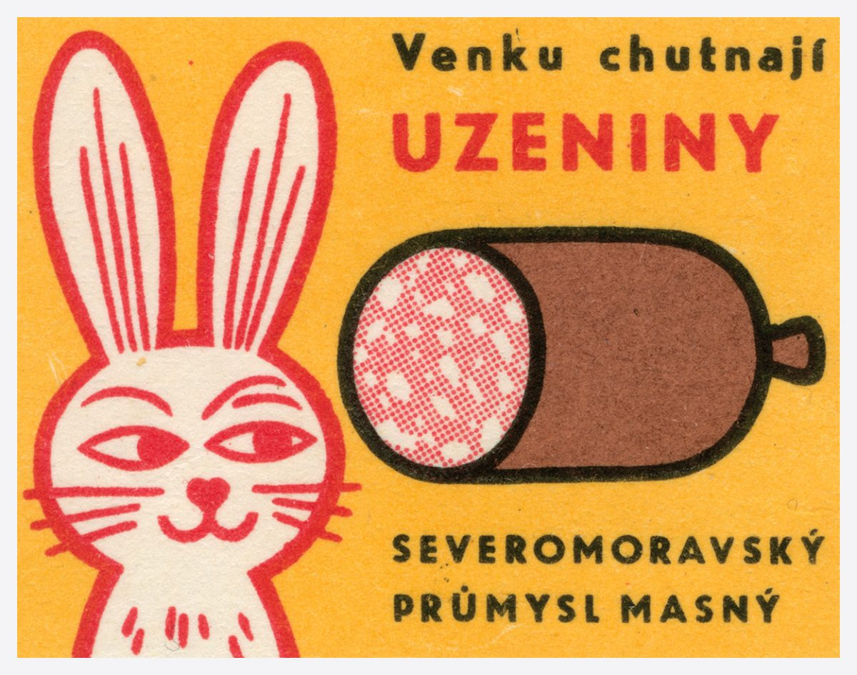 Matchbox vintage art Easter Bloc communism design