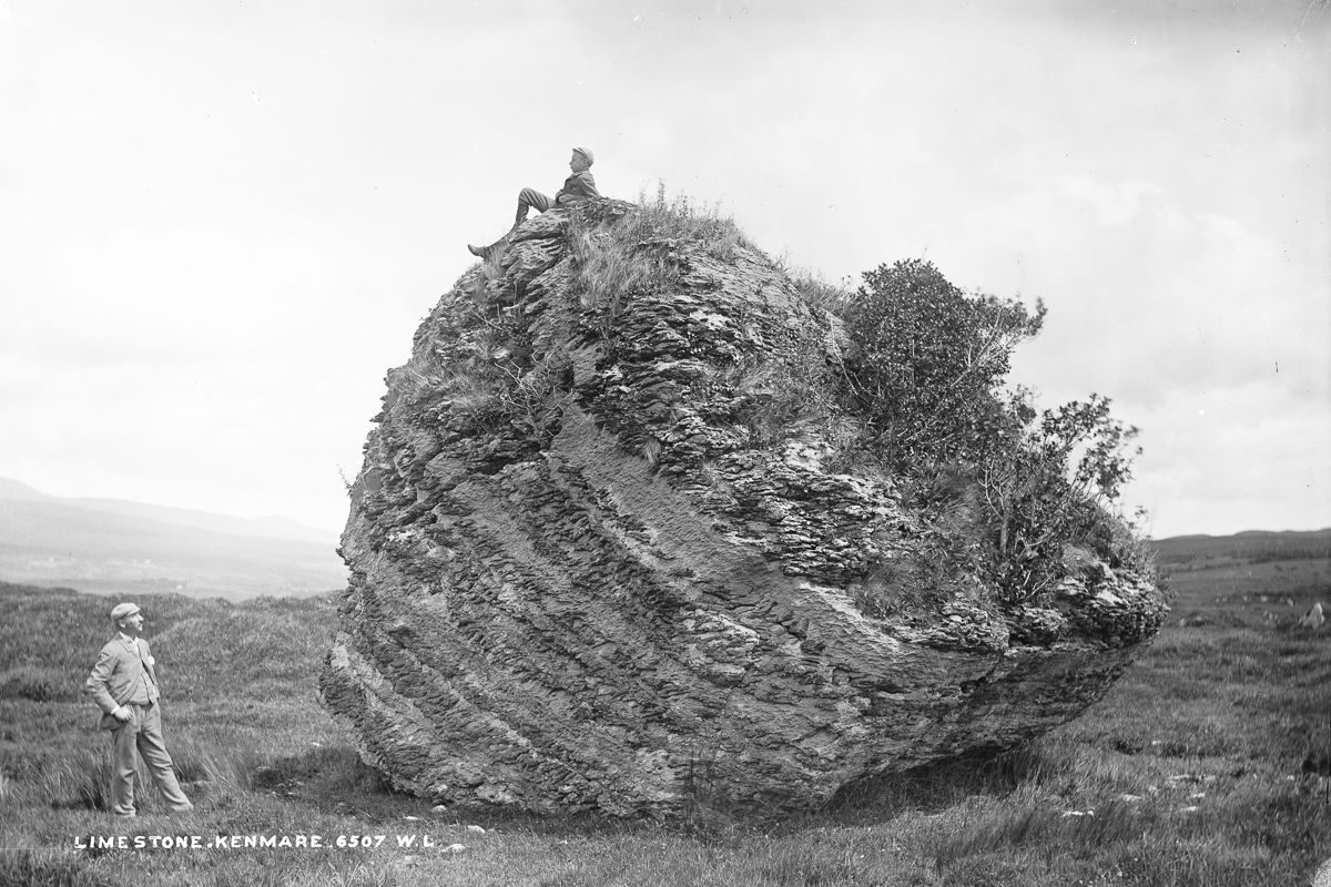 c. 1890 The Cloghvorra Stone, near Kenmare.