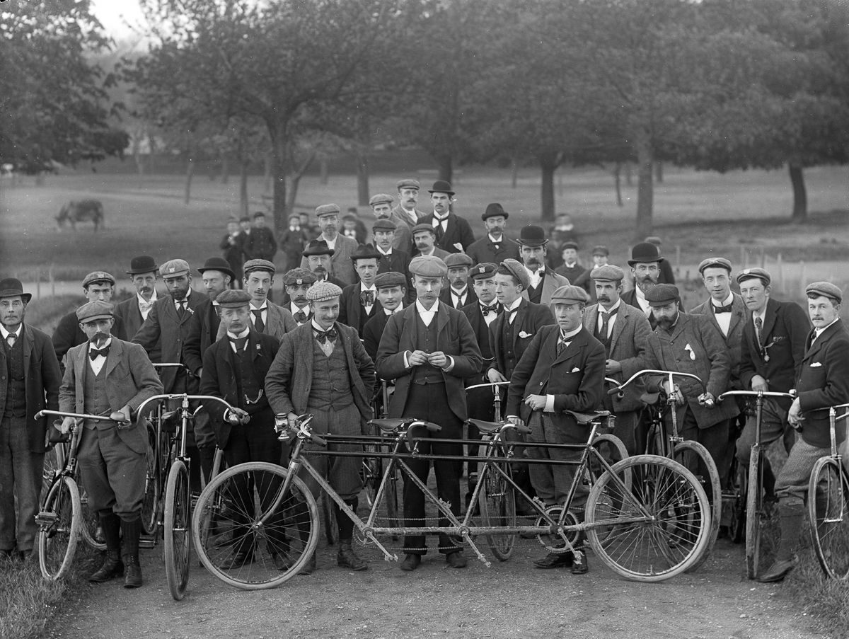 c. 1897 The Waterford Bicycle Club