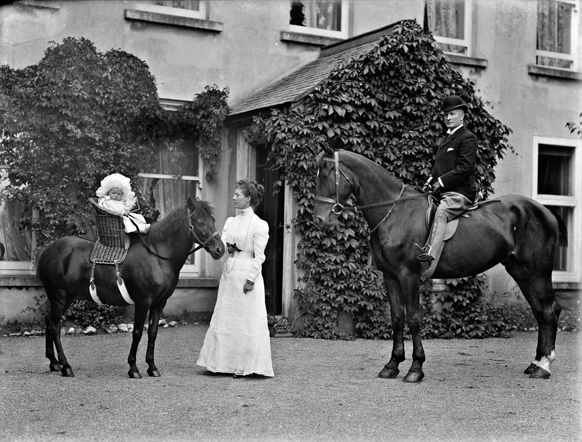 c. 1901 The McCoy family of Waterford.