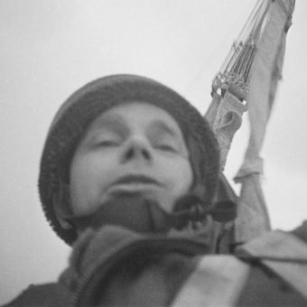 The Paratrooper's Selfies : Snapshots Whilst Falling to Earth in 1944
