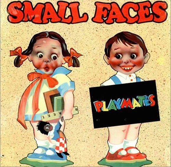 Mac persuaded Bubbles to produce the lettering for the cover of the Small Faces' 1977 reunion LP