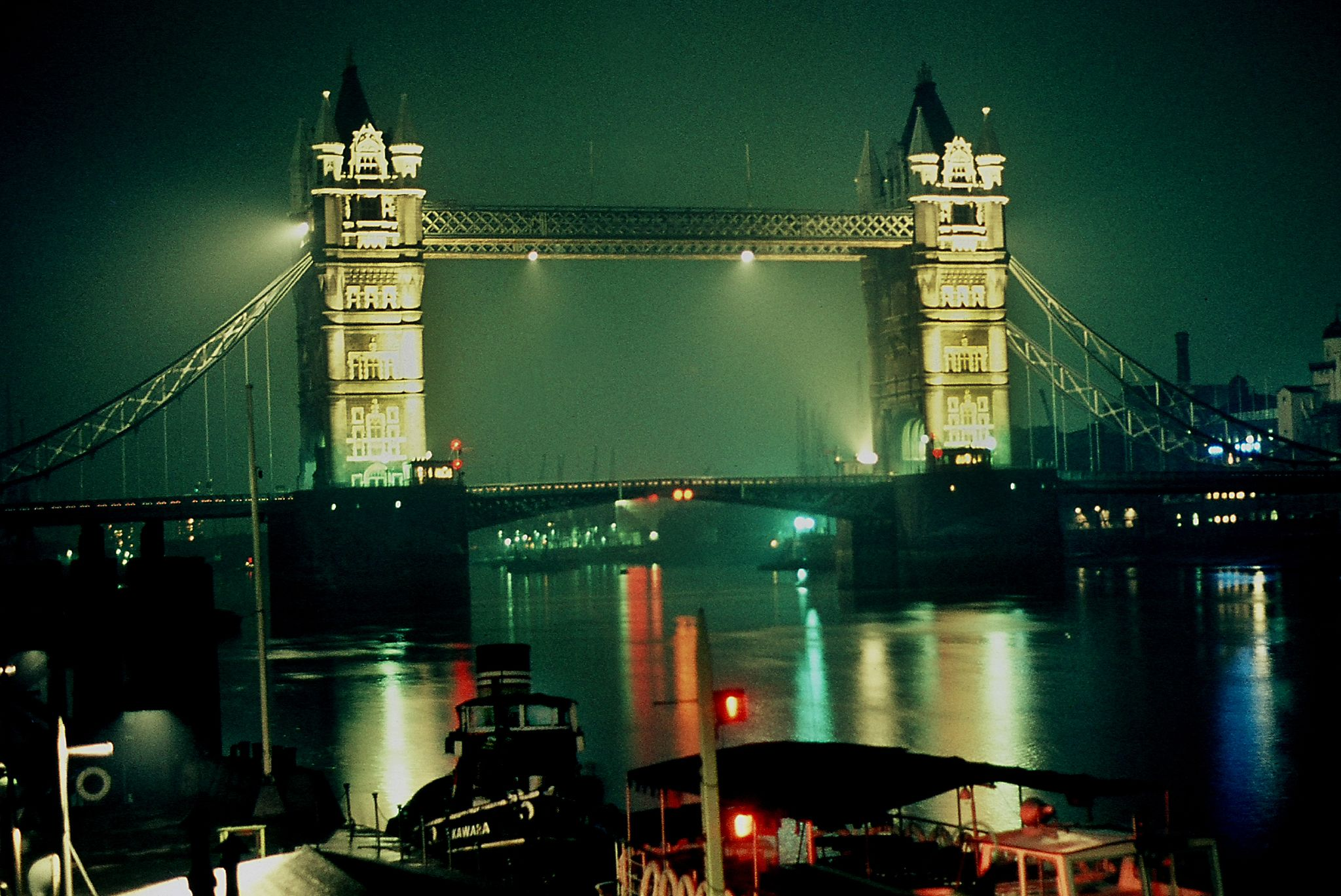 London England 1960s colour