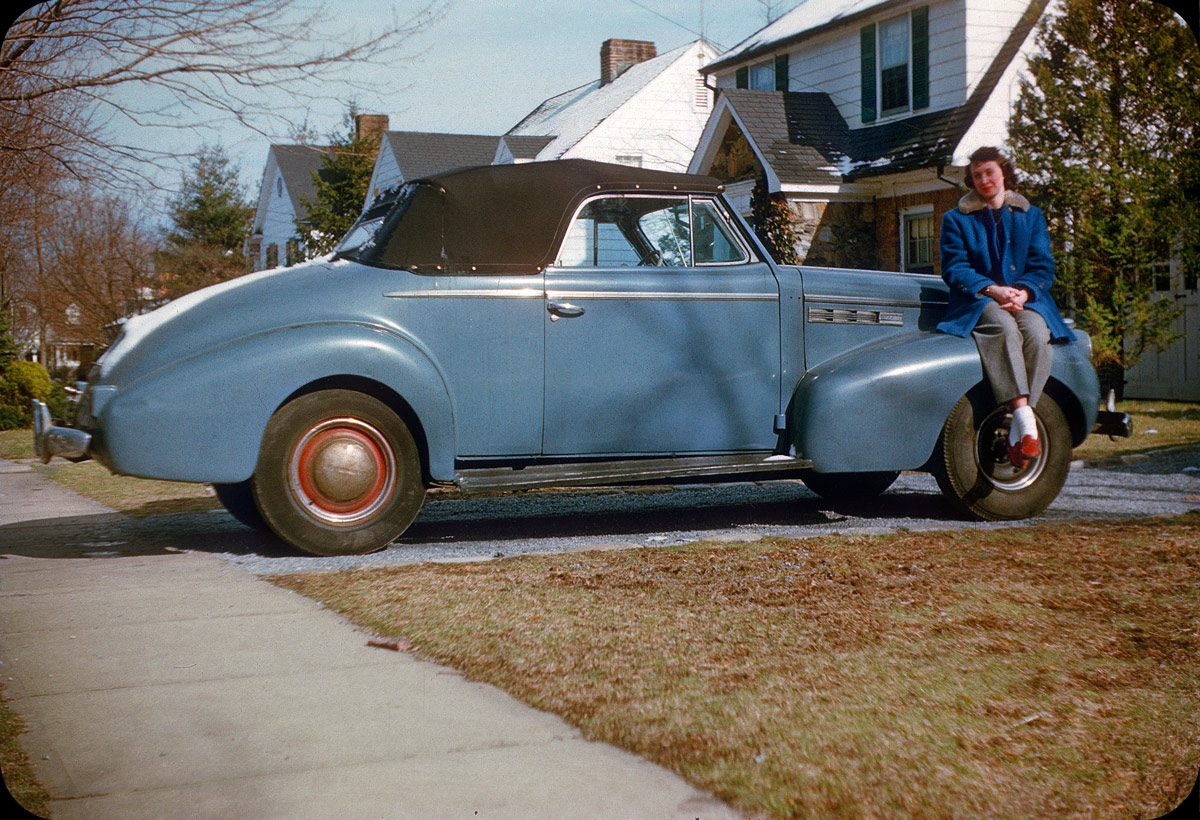 The Old Car – 1954