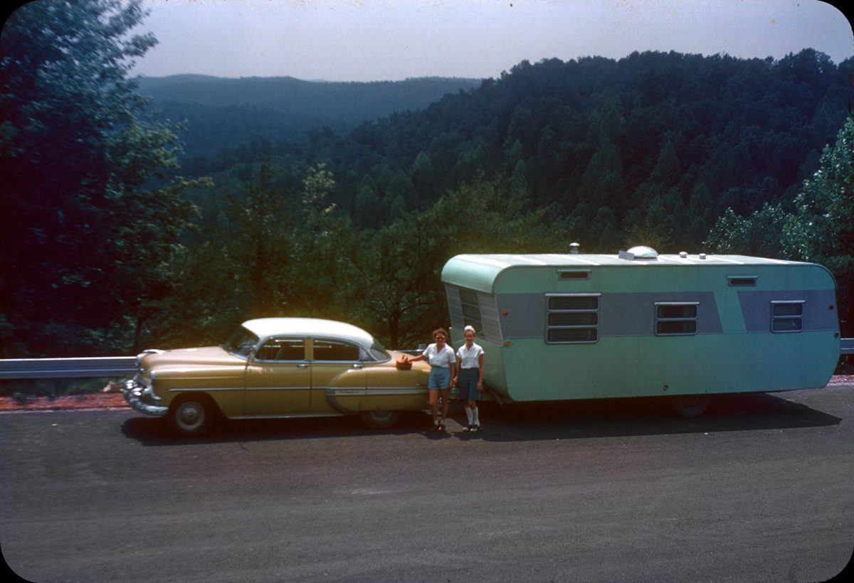 Southeast Vacation — 1956
