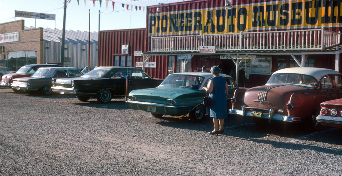 Pioneer Auto Museum, Murdo, South Dakota — 1965