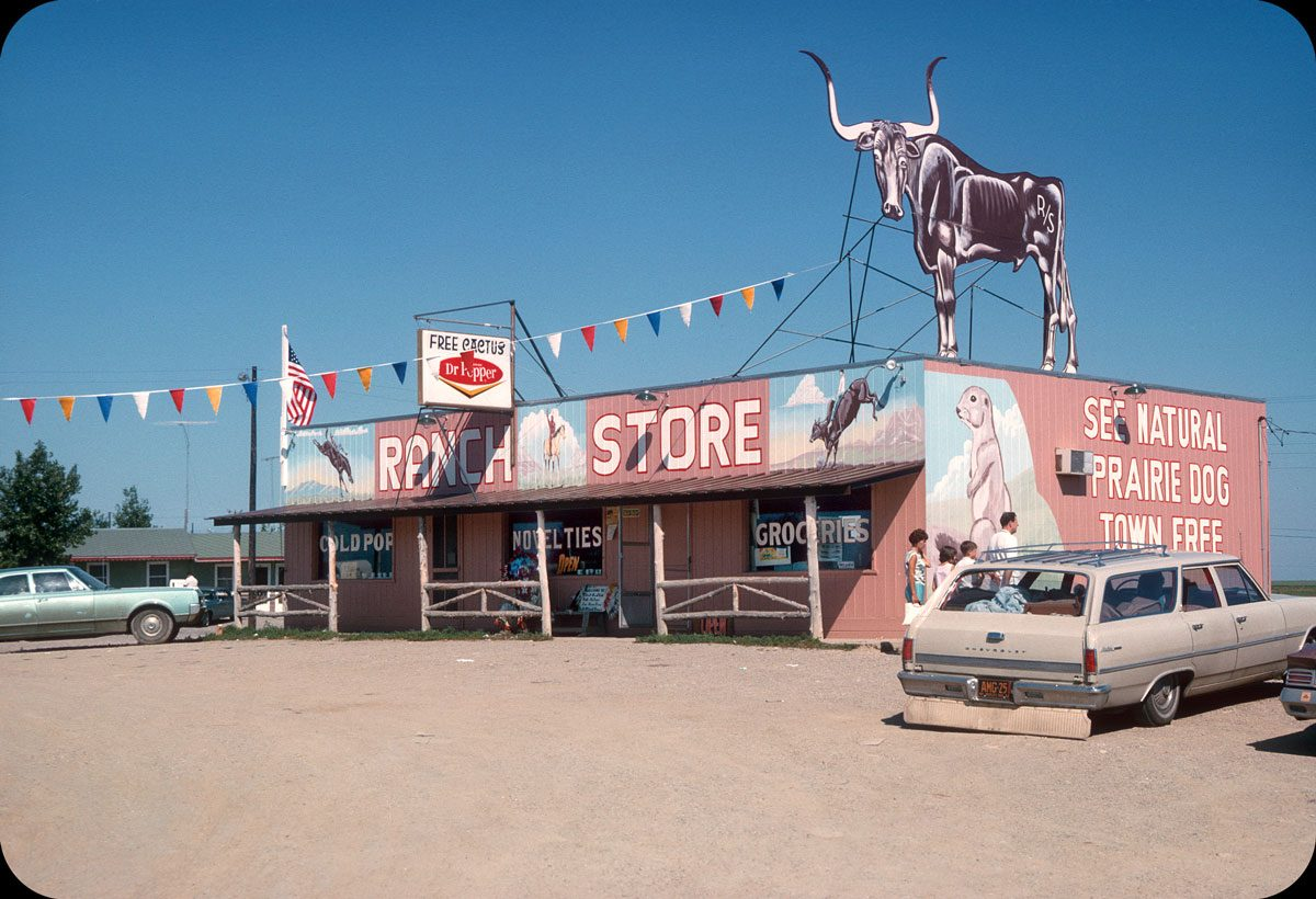 Ranch Store, Cactus Flat, SD — July 1965
