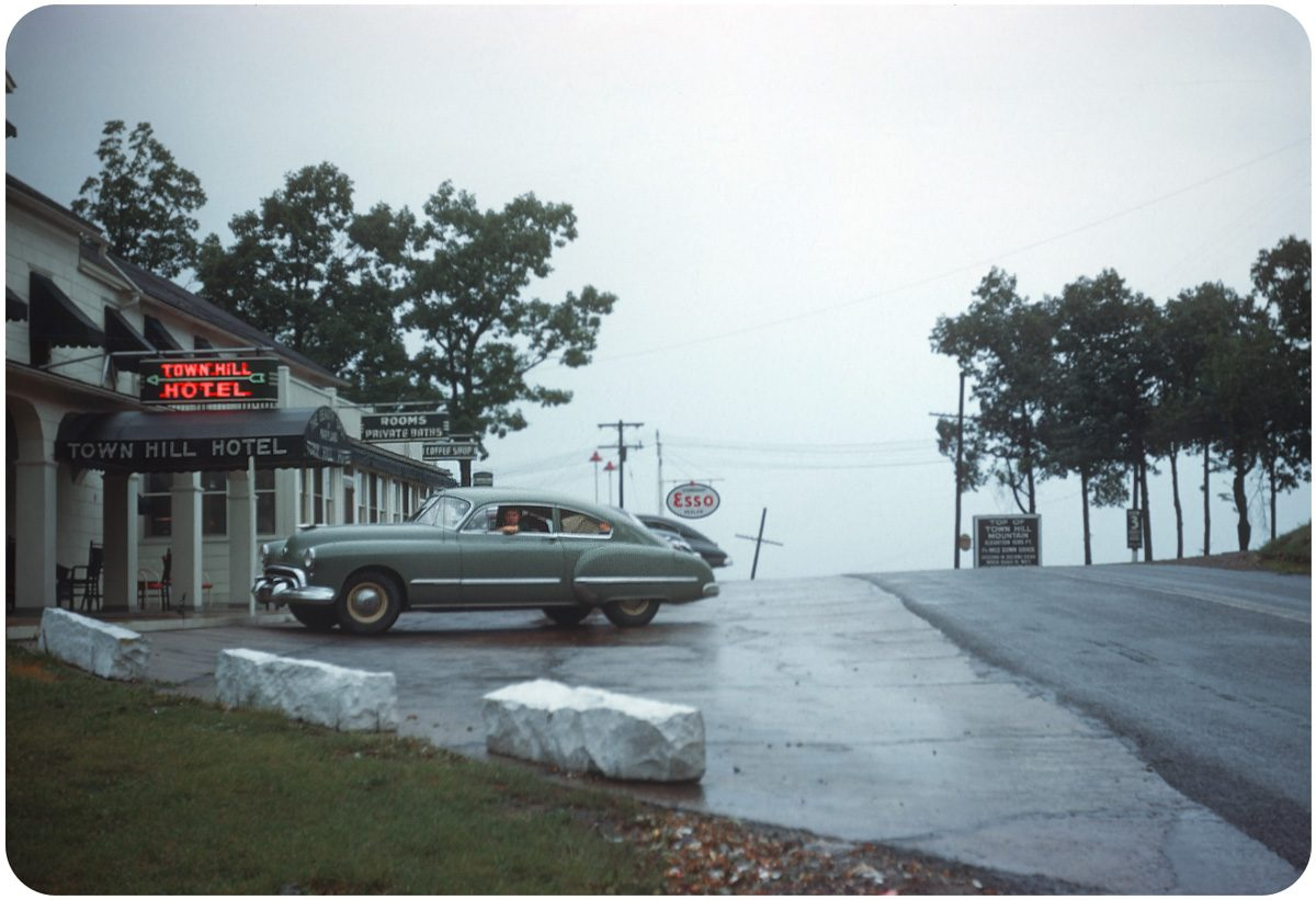 Town Hill Hotel — 1948 Little Orleans, MD. Love the mood here. From Town Hill Mt., you can see three states!