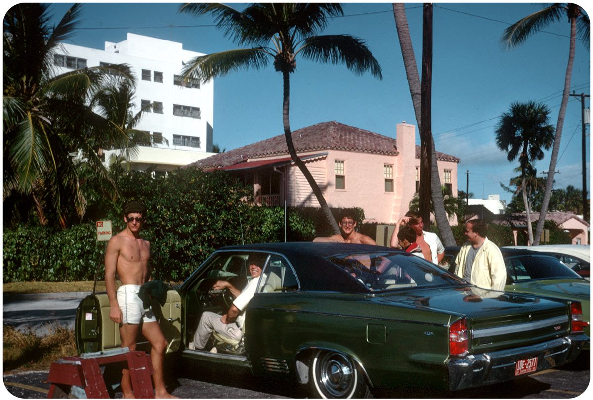 Bel Air Car >> The 1960s American Car And Road Trip In Kodachrome - Flashbak