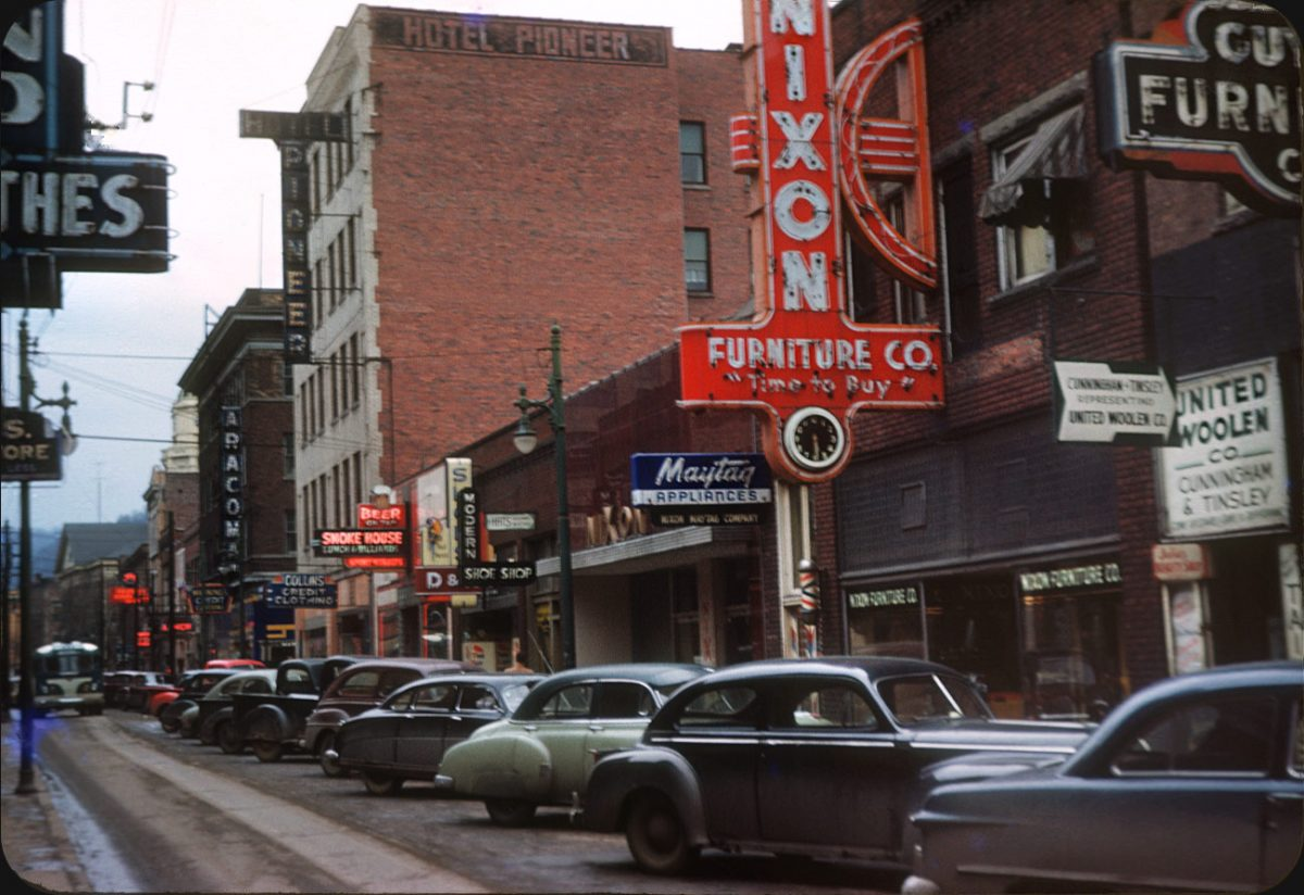 The 1950s American Car And Road Trip In Kodachrome Flashbak
