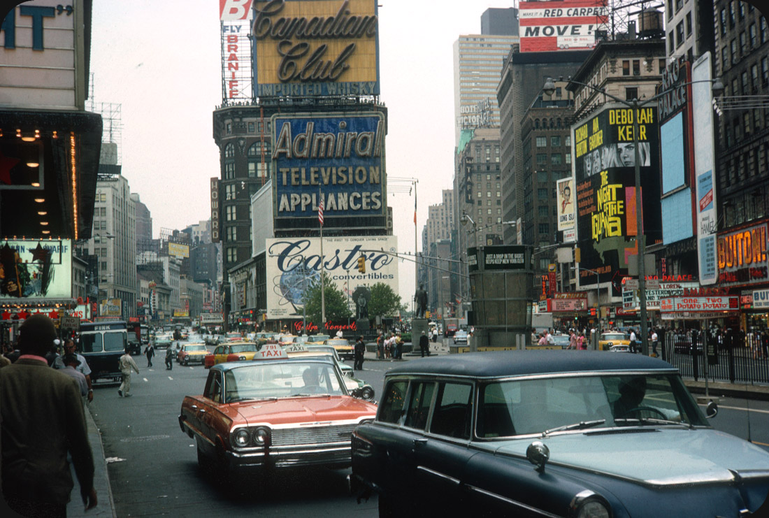Times Square, New York City – 1964