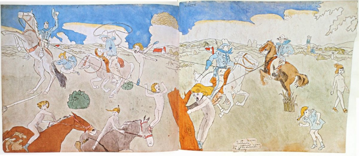 Henry Darger serpents vivian