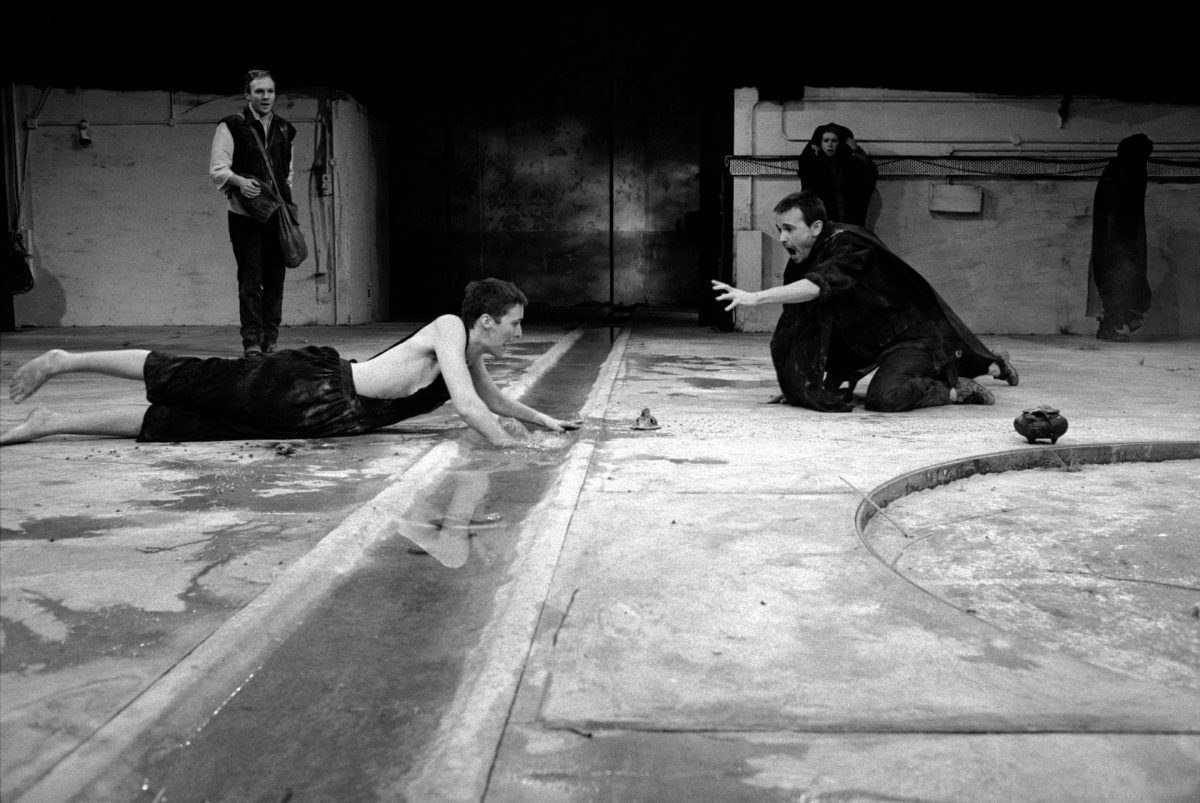 Ivan KynclElectra, 1988 Fiona Shaw in Sophocles' play, directed by Deborah Warner at Barbican Centre, London