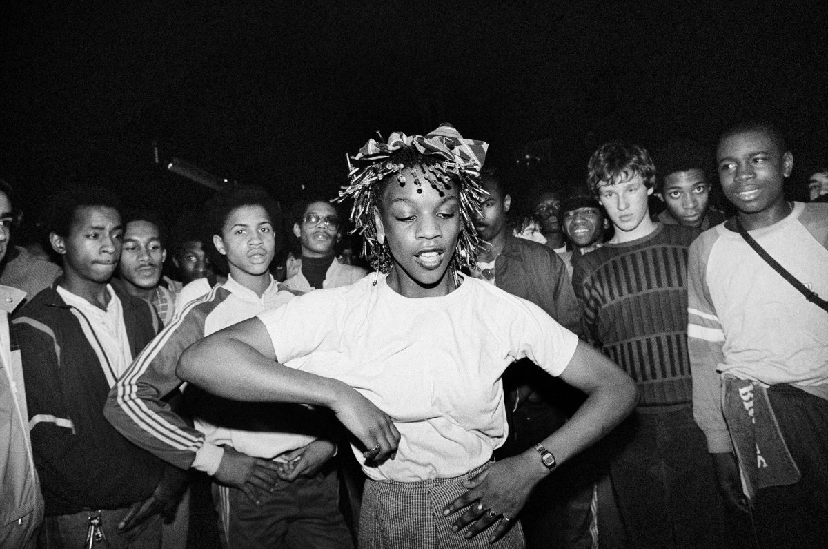 Dancing at the Electric Ballroom, London, 1983 Photograph: © Pierre Terrasson
