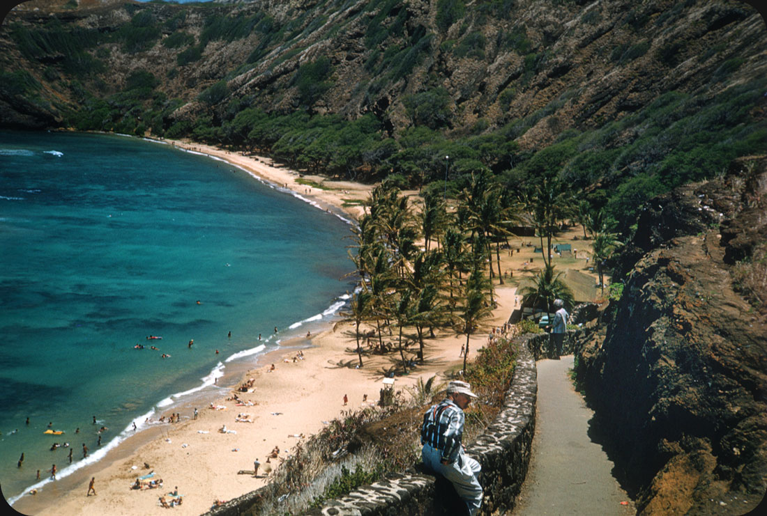 Hawaiian Beach - 1950s