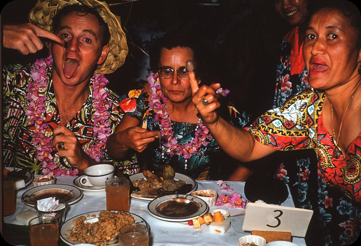 Luau Dinner Party – 1950s