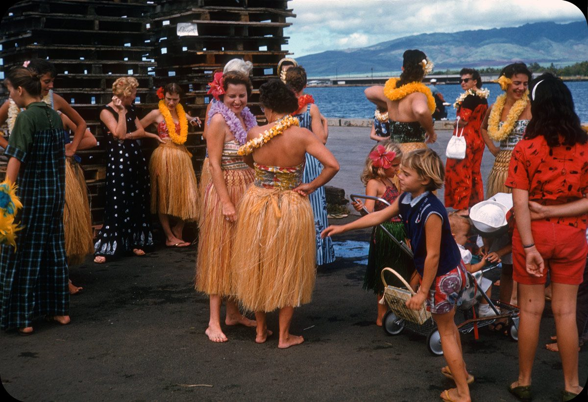 Hula Dancers at Ford Island