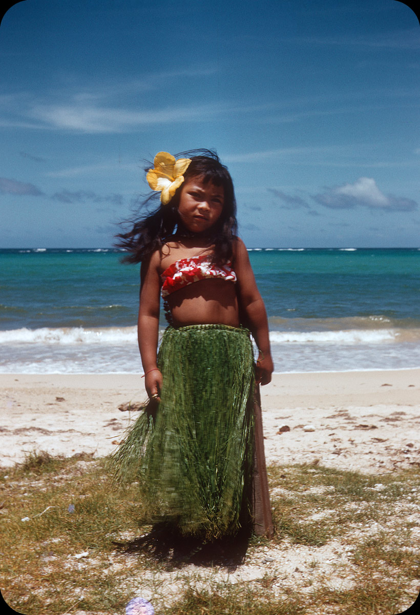 Hula Girl, Hawaii – 1956