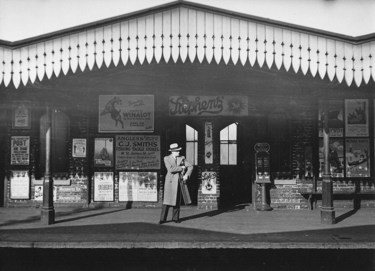 Kentish Town station, London, 1936.