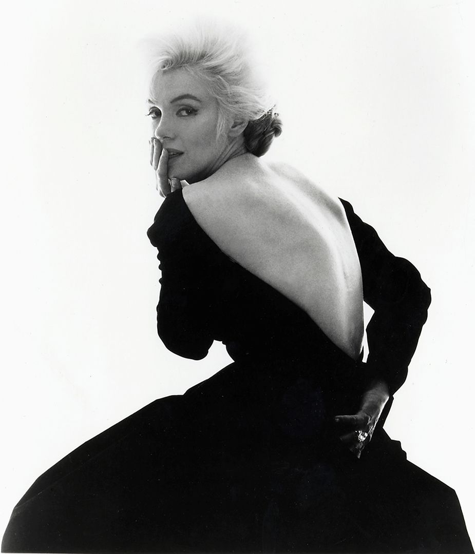 'Looking Over Shoulder', Marilyn Monroe, Los Angeles, 1962, Bert Stern © The Bert Stern Trust. All images courtesy of Proud Central.