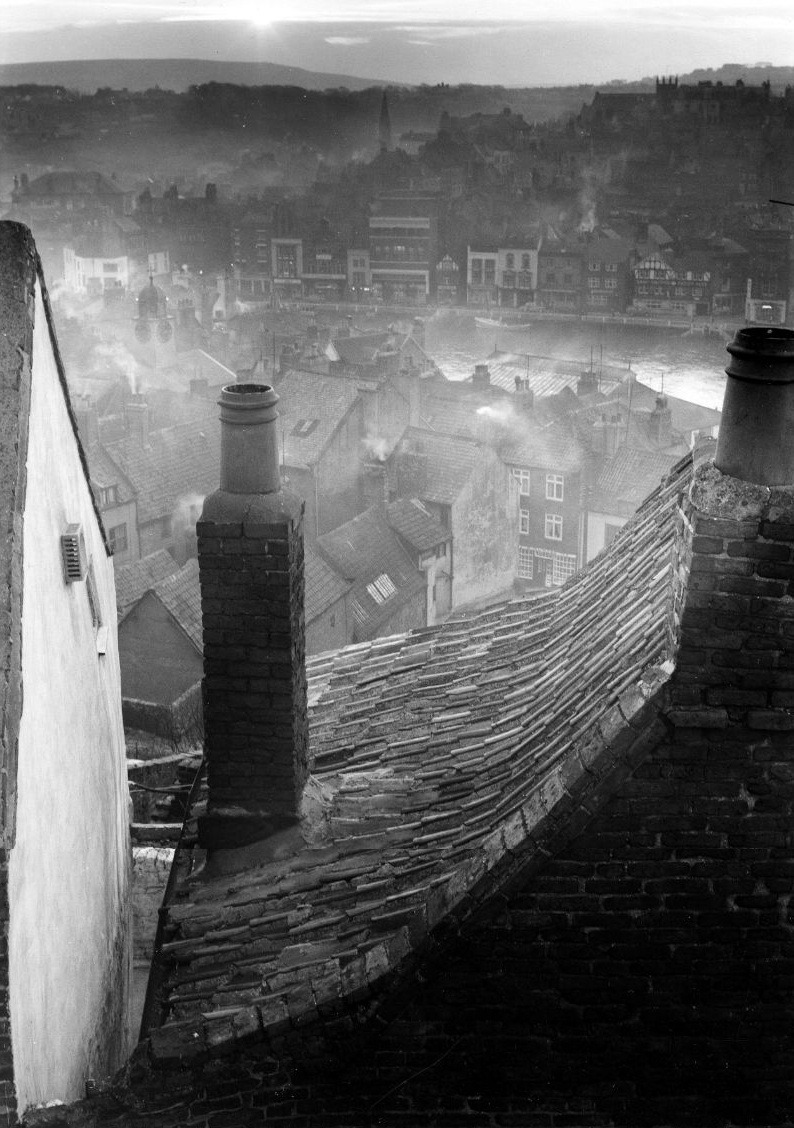 Roofscape, Whitby, North Yorkshire, 1959